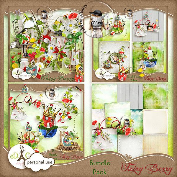Véro - MAJ 02/03/17 - Spring has sprung ...  - $1 per pack  Previewbundle_fai...rry_vero-333c789