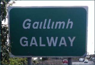 Pancarte Galway