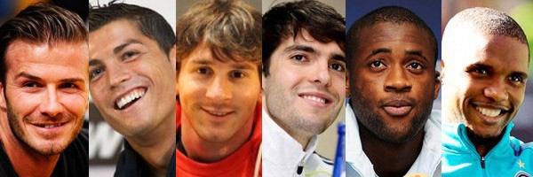 10 Pemain Sepak Bola dengan Penghasilan Terbesar